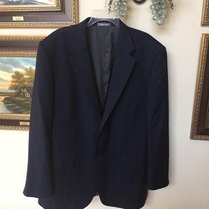 Oscar De La Renta Blue Pinstriped jacket Blazer
